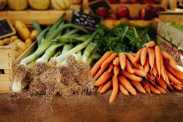 Möhren Lauch Gemüse lose unverpackt